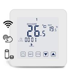 Termostat do piecy, sterowanie WiFi, Dotykowy Ekran, sterowanie Alexa Echo